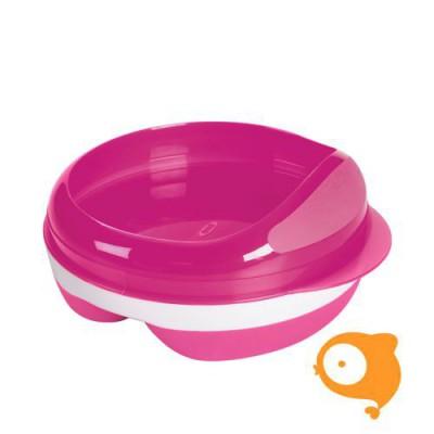 OXO tot - Voedingsbord met 2 vakjes - pink