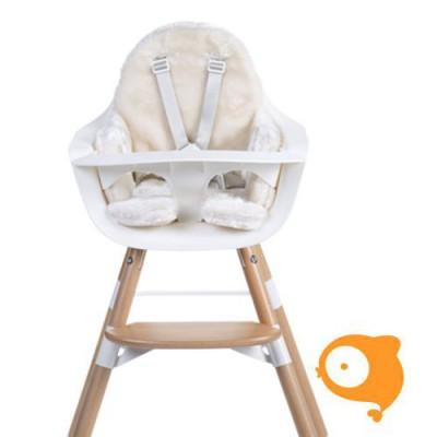 Childhome - Evolu stoelkussen pels gebroken wit