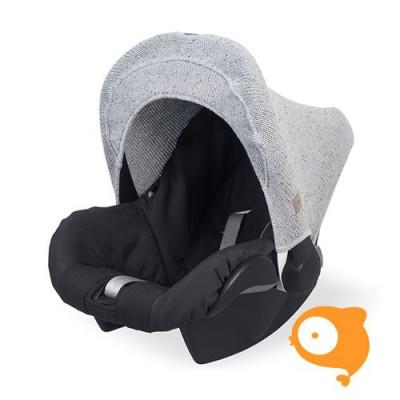 Jollein - Zonnekapje maxi-cosi confetti knit grey