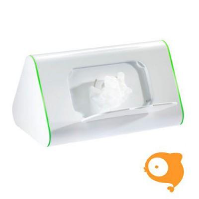 DotBaby - Dot.box 2-in-1 houder: vochtige doekjes en opbergdoos groen