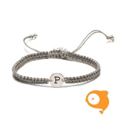 Proud Mama - Armband met initiaal P
