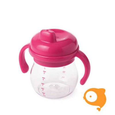 OXO tot - Transitions sippy cup with removable handles (150 ml) - pink