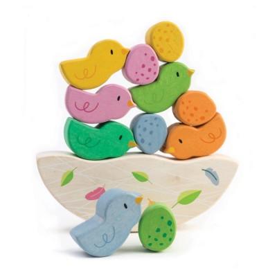 Tender leaf toys - balancerende babyvogels