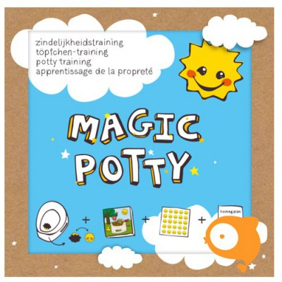 Boekje zindelijkheidstraining Magic Potty