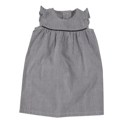 pigeon - shift dress gestreept navy