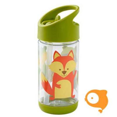 Sugarbooger - Drinkfles met rietje - What did the fox eat