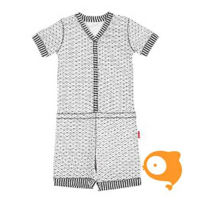 Claesen's - Girls pyjama suit ribbon/stripes