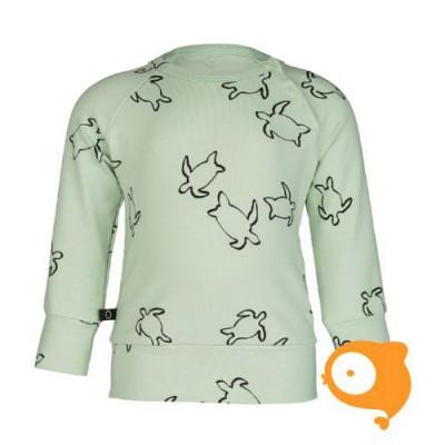 nOeser - Hilke jersey sweater turtle mint