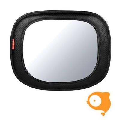 Skip Hop - auto grote spiegel - Zwart/grijs visgraatmotief