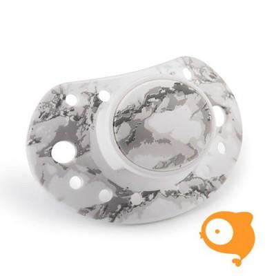 Elodie Details - Fopspeen 3m+ marble grey