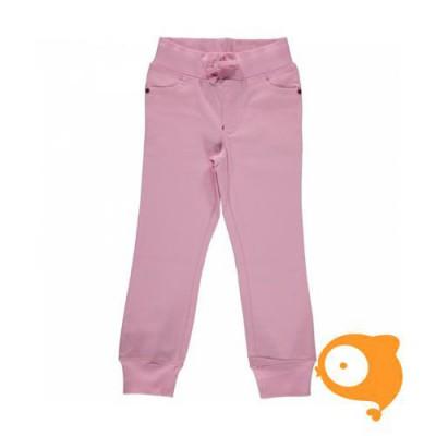 Maxomorra - Pants rib twill light pink