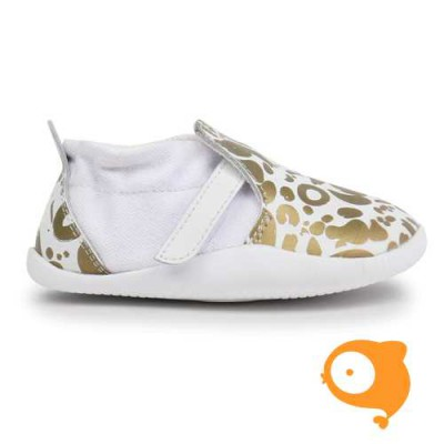 Bobux - Step-up street Xplorer abstract white/gold