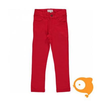 Maxomorra - Softpants sweat red