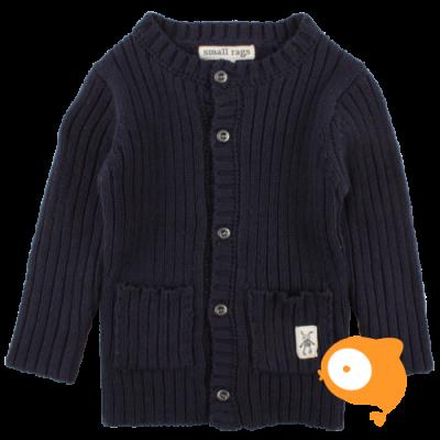 Small Rags - Ella knit cardigan navy iris