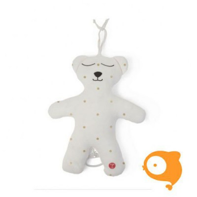 Childhome - Knuffelbeer 40cm white+musicbox