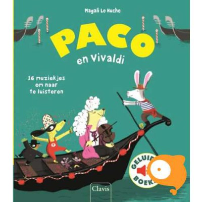 Clavis - Geluidenboekje 'Paco en Vivaldi'