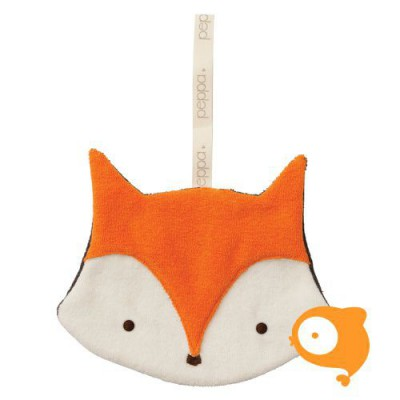 Peppa - Knuffeldoekje comfort buddie fox organic/bio