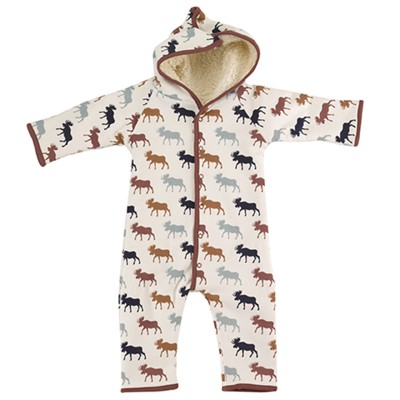 Pigeon - snuggle suit - moose multicolor