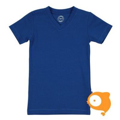 Claesen's - T-shirt jongens V-hals blauw