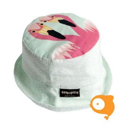 Coq en Pâte - Zonnehoedje flamingo