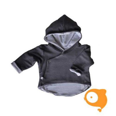 Bamboom - Jacket with hoodie grey