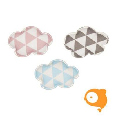 Mimi & Lula - Geometric cloud salon clip roze