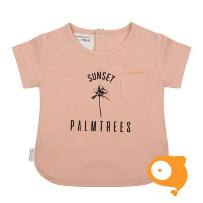 Little Indians - T-shirt sunset dusty coral