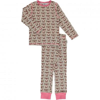 Maxomorra  - Pyjama Set LS fawn