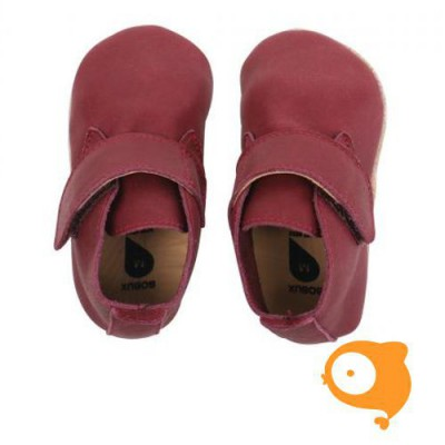 Bobux - Soft sole dark red mini desert boot Limited Edition