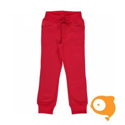 Maxomorra - Pants rib twill red