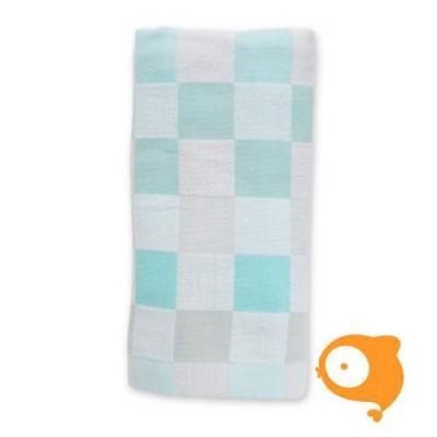Lulujo - Luxe baby deken aqua