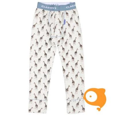 Claesen's - Pyjamabroek jongens Lt. Grijs giraf