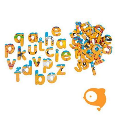 Scratch - Play&learn: magneten ABC safari