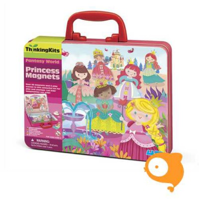 4M - Thinkingkits: magnetenset prinses