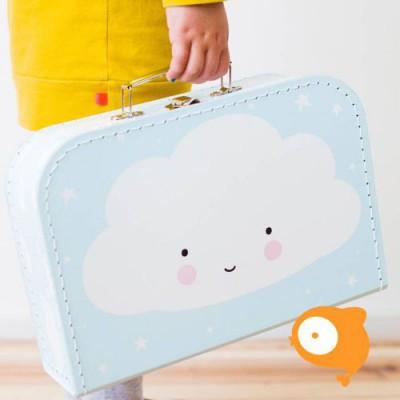 A little lovely company - Koffertje cloud blauw