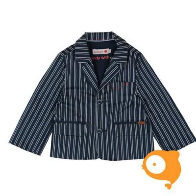 Boboli - Blauw/wit gestreepte blazer