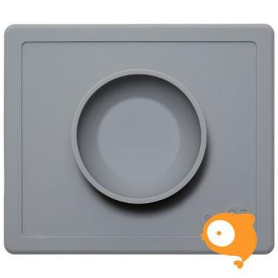 EZPZ - Happy bowl grijs