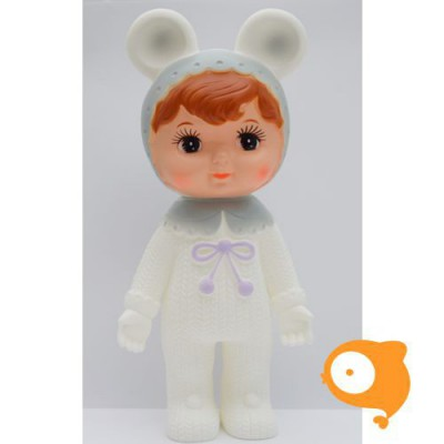 Lapin & Me - Snow baby grey ears woodland doll
