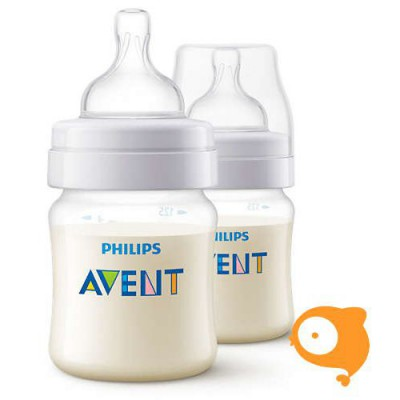 Avent - Classic+ zuigfles 125 ml DUO