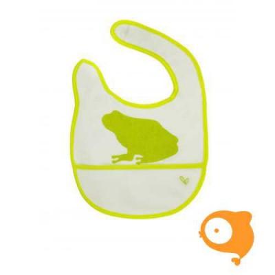 JJ Rabbit - Slabbetje groen kikker