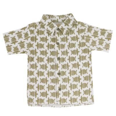 pigeon - hemd print schildpad