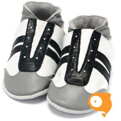 Baby Dutch - Slofjes jogger zwart wit