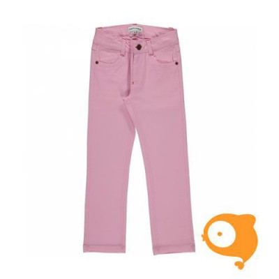 Maxomorra - Pants twill light pink