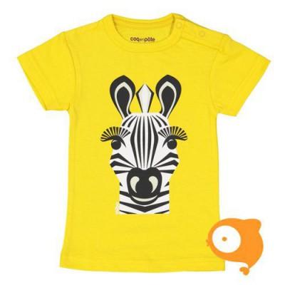 Coq en Pâte - T-shirt zebra