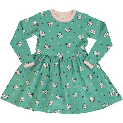Maxomorra - Dress Spin LS Little sparrow
