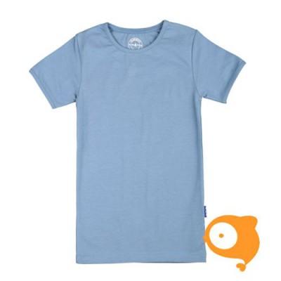 Claesen's - T-shirt jongens blauwgrijs