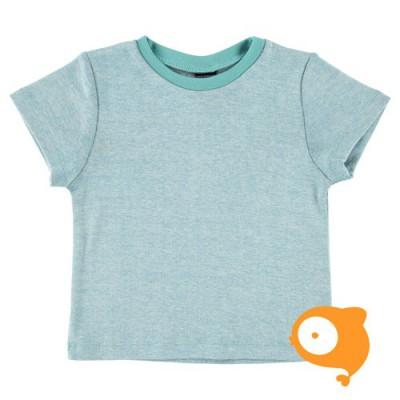 Mundo melocotón - T-shirt rib sky