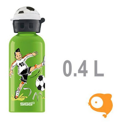 Sigg - Drinkfles 0,4l voetbalkamp