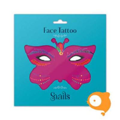 Snails - Face Tattoo - Brazil