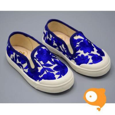 Pépé Children Shoes - Tessuto anemone